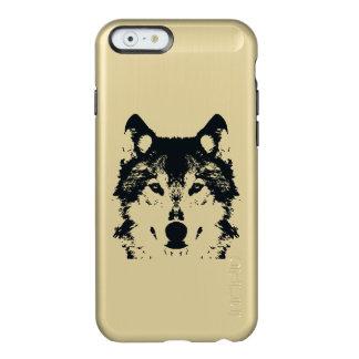 Illustration Black Wolf Incipio Feather® Shine iPhone 6 Case