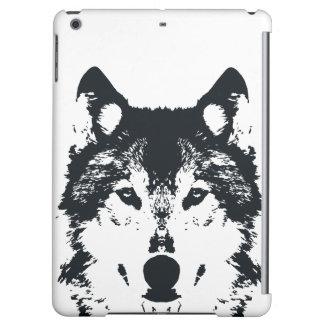 Illustration Black Wolf iPad Air Cases