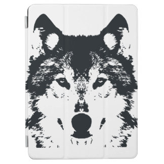 Illustration Black Wolf iPad Air Cover