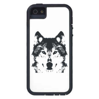 Illustration Black Wolf iPhone 5 Covers
