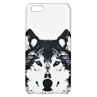 Illustration Black Wolf iPhone 5C Cover