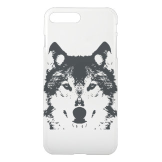 Illustration Black Wolf iPhone 8 Plus/7 Plus Case