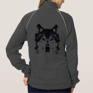 Illustration Black Wolf Jacket