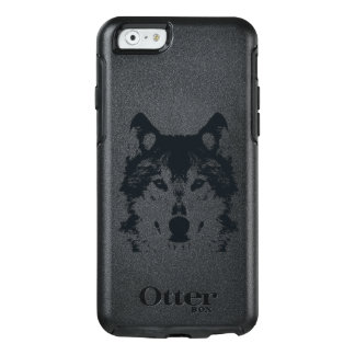 Illustration Black Wolf OtterBox iPhone 6/6s Case