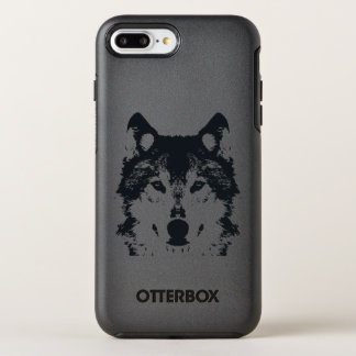 Illustration Black Wolf OtterBox Symmetry iPhone 8 Plus/7 Plus Case