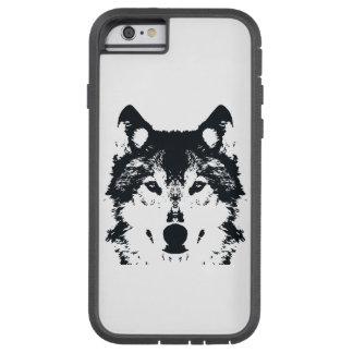 Illustration Black Wolf Tough Xtreme iPhone 6 Case
