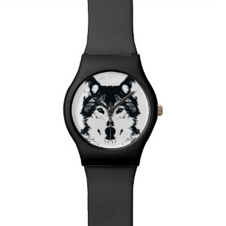 Illustration Black Wolf Watch