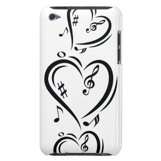 Illustration Clef Love Music Barely There iPod Case