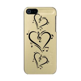 Illustration Clef Love Music Incipio Feather® Shine iPhone 5 Case