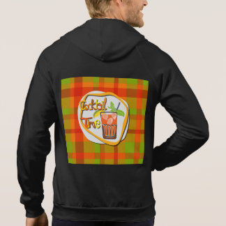 """Illustration Cocktail with fruit """"Cocktail Time"""" Hoodie"""