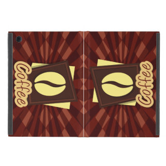 Illustration coffee bean iPad mini covers