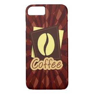 Illustration coffee bean iPhone 7 case