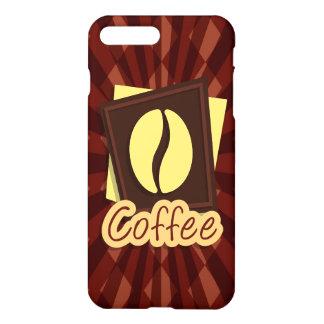 Illustration coffee bean iPhone 7 plus case
