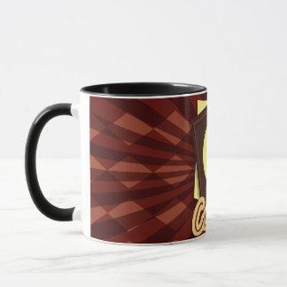 Illustration coffee bean mug