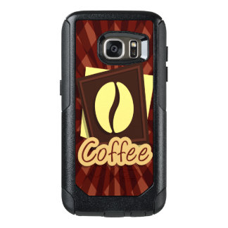 Illustration coffee bean OtterBox samsung galaxy s7 case