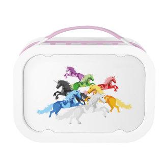 Illustration colorful wild Unic Lunch Box