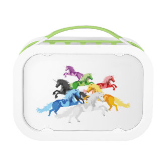 Illustration colorful wild Unic Lunch Box