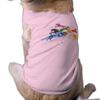 Illustration colorful wild Unicorns Shirt