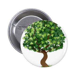 Illustration d arbre pin's avec agrafe