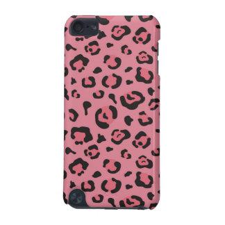 Illustration d'animal de rose de léopard coque iPod touch 5G