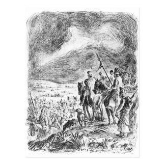 Illustration 'd'ejercito d'EL d'en de Campana Carte Postale