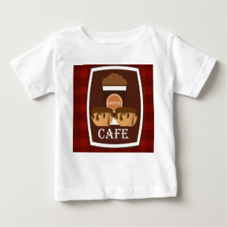 Illustration delicious cup of coffee baby T-Shirt
