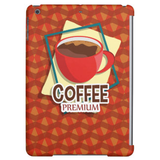 Illustration delicious cup of coffee iPad air case
