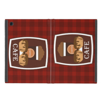Illustration delicious cup of coffee iPad mini cover