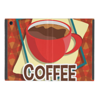 Illustration delicious cup of coffee iPad mini covers