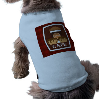 Illustration delicious cup of coffee pet clothes