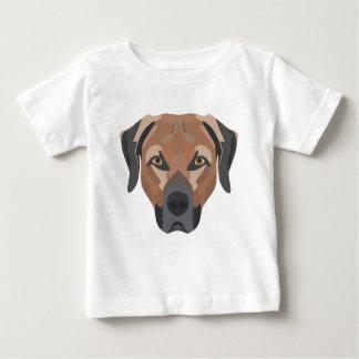 Illustration Dog Brown Labrador Baby T-Shirt