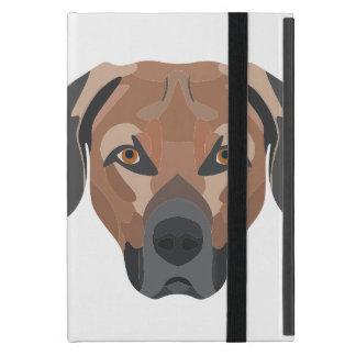 Illustration Dog Brown Labrador Case For iPad Mini