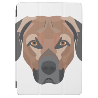 Illustration Dog Brown Labrador iPad Air Cover