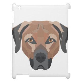 Illustration Dog Brown Labrador iPad Cases