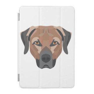 Illustration Dog Brown Labrador iPad Mini Cover