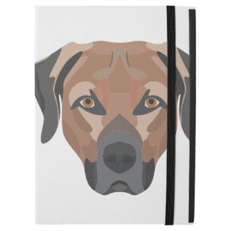 "Illustration Dog Brown Labrador iPad Pro 12.9"" Case"