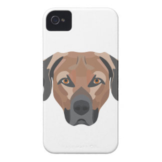 Illustration Dog Brown Labrador iPhone 4 Covers