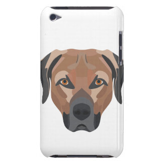 Illustration Dog Brown Labrador iPod Touch Cover