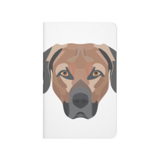 Illustration Dog Brown Labrador Journal