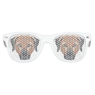 Illustration Dog Brown Labrador Kids Sunglasses