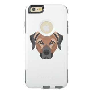 Illustration Dog Brown Labrador OtterBox iPhone 6/6s Plus Case