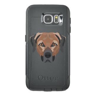 Illustration Dog Brown Labrador OtterBox Samsung Galaxy S6 Case