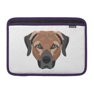 Illustration Dog Brown Labrador Sleeve For MacBook Air