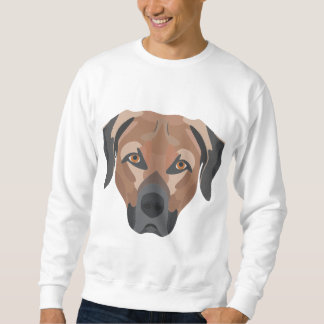 Illustration Dog Brown Labrador Sweatshirt