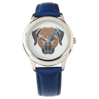 Illustration Dog Brown Labrador Watch