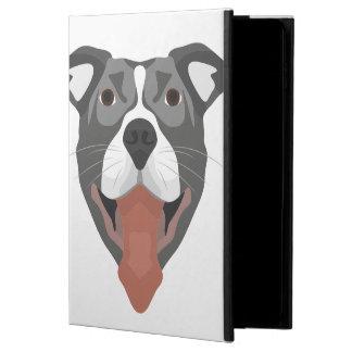 Illustration Dog Smiling Pitbull Powis iPad Air 2 Case