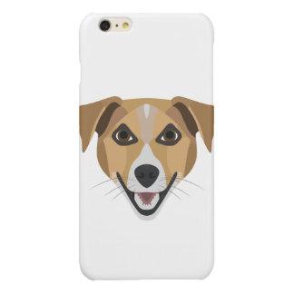 Illustration Dog Smiling Terrier