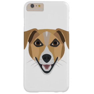 Illustration Dog Smiling Terrier Barely There iPhone 6 Plus Case