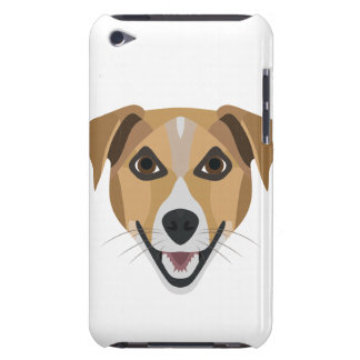 Illustration Dog Smiling Terrier Barely There iPod Covers