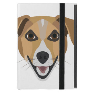 Illustration Dog Smiling Terrier Case For iPad Mini